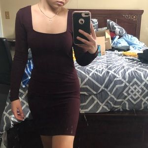 😍 Forever 21 square neck Bodycon Dress 😍
